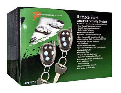 Prestige Aps787c Deluxe Remote Start With Keyless Entry