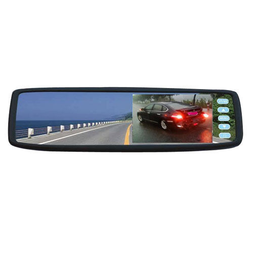 4.3 TFT LCD Car Bluetooth Rear View Rearview Monitor Mirror Touching Button
